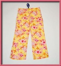 BIG FISH SWEET POTATOES GIRLS SIZE 10-12 PANTS NWT PINEAPPLE YELLOW SUMM... - $12.61