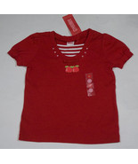 GYMBOREE GIRLS SIZE 4 SHIRT NWT HOLLAND DAYS RED TULIP FLOWERS STRIPES TOP - $14.30