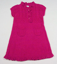 BABY GAP GIRLS SIZE 18M 24M PINK SWEATER DRESS CHELSEA COLLECTION 18-24M - $16.82