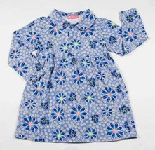 OLIVE KIDS GIRLS SIZE 3-4 DRESS BLUE POP FLORALCRAZY  DAISY FLOWER 3 4 - $12.61