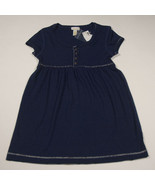 LIMITED TOO NWT GIRLS SIZE 12 TOP NAVY BLUE SHIRT SHIMMERY THREADS NEW - $15.98