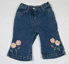 GYMBOREE BABY GIRLS SIZE 3-6M PANTS FRESHLY PICKED FLOWERS FLORAL 3M 6M - $7.56