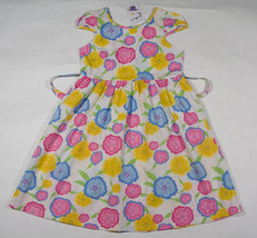Chic Maizy Mouse Nwt Girls 8 Dress Pop Of Flowers Pink Yellow Floral Australian - $12.61