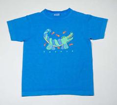Fresh Produce Boutique Size 5 Shirt Alligator Gator Blue Top Boys Girls - $6.72