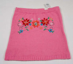 THE CHILDRENS PLACE NWT GIRLS SIZE 6 SKIRT TCP PINK FLORAL FLOWER NEW WI... - $12.61