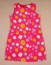 COPPER KEY GIRLS SIZE 10 DRESS BRIGHT PINK FLORAL FLOWER - $14.30