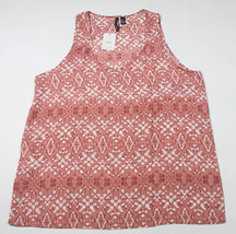 MNG BY MANGO NWT WOMENS SIZE L LARGE CASUAL SLEEVELESS TOP SHELL TANK NEW - $18.50