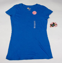 NWT COPPER KEY GIRLS SIZE 14 BLUE TOP SHIRT LAYER ME NEW - $8.41