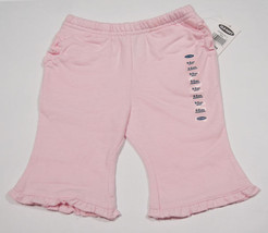 OLD NAVY BABY GIRLS SIZE 0-3M NWT PANTS COTTON CANDY PINK RUFFLES NEW 3M - $7.56