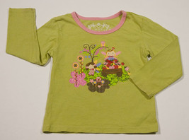The Childrens Place Girls Size 3 T Top Tcp Fairy Princess Owl Apples Shirt - $8.41