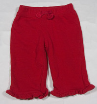 GYMBOREE INFANT GIRLS SIZE 3-6M PANTS FULL OF HEART RED VALENTINES HEART... - $9.25