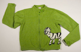 Gymboree Girls Size 9 Sweater  Mod Zebra Green Sweater - $18.50