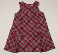 THE CHILDRENS PLACE TCP GIRLS SIZE 3T DRESS PINK PLAID DROP WAIST DRESS - $10.93
