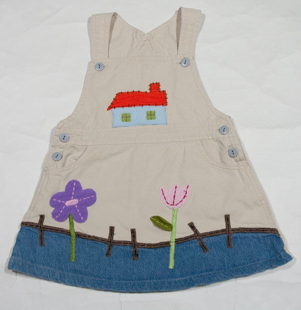 BOUTIQUE BABALOOI GIRLS 24M DRESS NO PLACE LIKE HOME FLOWERS GIRLS JUMPER 24 M