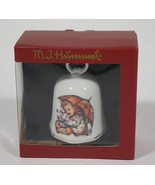 NIB HUMMEL UMBRELLA GIRL BELL REUTTER PROZELLAN GERMANY NEW IN BOX - $12.61