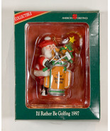 AMERICAN GREETING NEW I'D RATHER BE GOLFING FORE SOMEONE SPECIAL ORNAMENT 1997 - $12.61