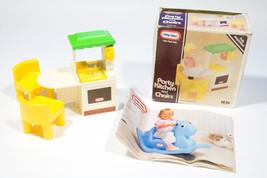 Little Tikes Vintage Dollhouse Party Kitchen Chairs Catalog & Orignal Box - $33.65