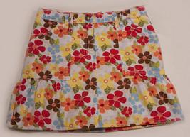 GYMBOREE GIRLS SIZE 7 SKORT ISLAND GETAWAY TROPICAL FLORAL FLOWERS - $15.98