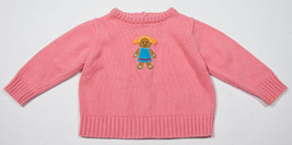 Gymboree Girls 12 M 18 M Sweater Pink Sugar & Spice Gingerbread Cookie Holiday - $10.09