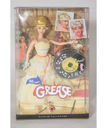 NEW FRENCHY BARBIE COLLECTOR 30 YEARS GREASE DOLL DANCE OFF PINK LABEL NIB - $46.27