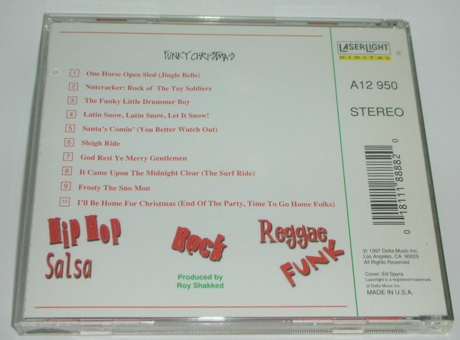 Funky Christmas Audio CD