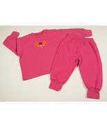 THE CHILDRENS PLACE 18M OUTFIT TCP PINK TOP & PANTS TANGERINE FLOWERS 18 M - $7.56