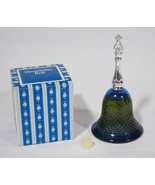 VTG  AVON BLUE GLASS HOSPITALITY BELL MOONWIND ... - $10.93