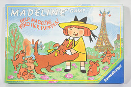 Ravensburger Madeline Memory Board Game Help Her Find Her Puppies Complete - $16.82