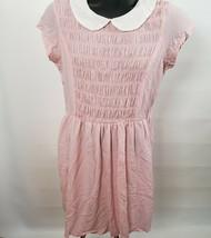 Stranger Things Eleven Dress Costume Cosplay Pink Smocked Spirit of Hall... - $32.71
