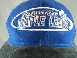 Retro Tornto Maple Leafs Hat - By Starter - Suede Hat - Velcro Back - $45.00
