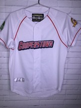 Cooperstown All Star Village Youth XL MLB White Jersey Red Sox Green Mon... - $18.55