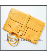 AUTH RARE Hermes MINI MINI JIGE Leather Clutch ... - $1,150.00