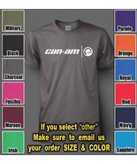 Can Am Motorcycles Unisex Tshirts S-3XL - $12.95