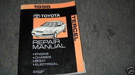1996 TOYOTA TERCEL Service Shop Repair Workshop Manual OEM FACTORY - $79.14