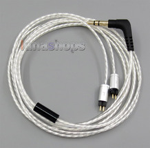 Silver Plated OCC Cable For In Ear StageDiver SD4S SD3S SD4 SD3 SD2S SD1... - $23.99