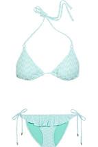NWT $184 Melissa Odabash Laguna printed triangle bikini IT 38 (US 0-2) 4... - $75.99