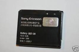 OEM Sony Ericsson Battery BST-39 W380 W518a W910i Z555 Equinox TM717 W908 T707 - $7.99