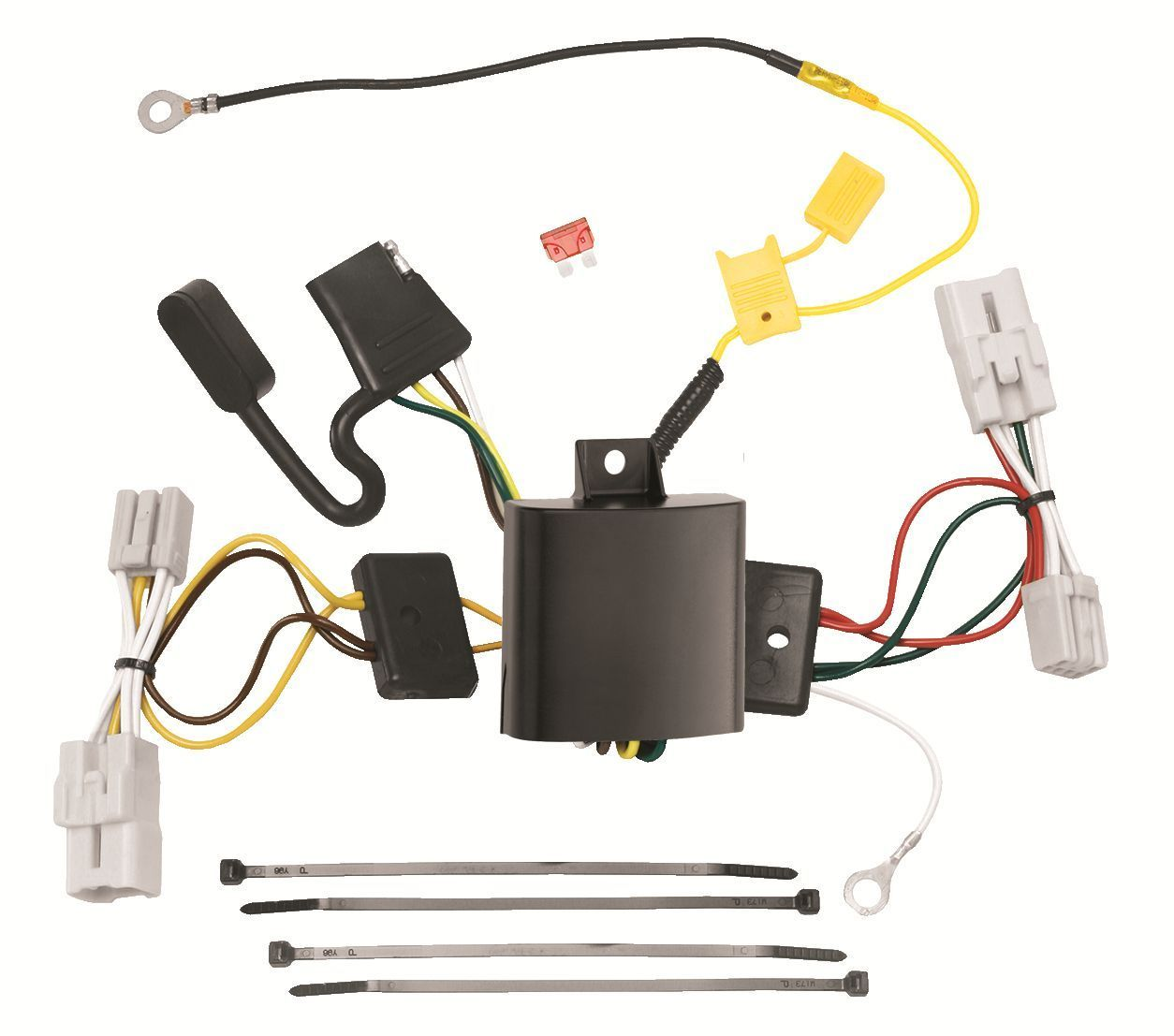 Trailer Wiring Harness Kit For 09-11 Hyundai Genesis 4 Dr. Sedan Plug & Play NEW