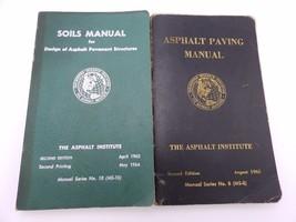 Vintage Lot Soils Manual Asphalt Paving Manual The Asphalt Institute Pap... - $14.85