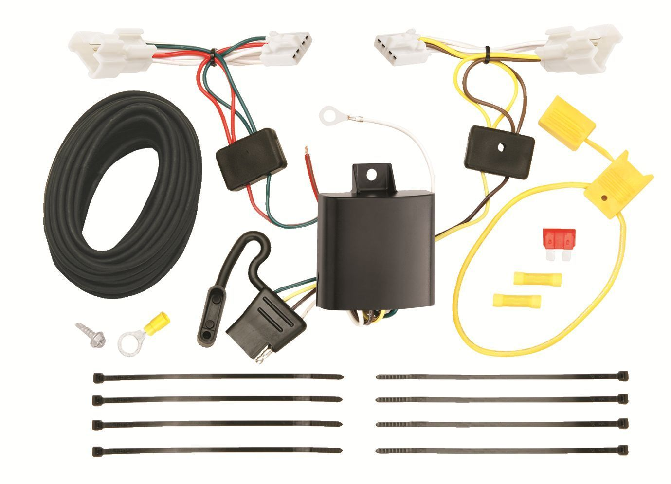 Trailer Wiring Harness Kit For 11-14 Hyundai Sonata Except Hybrid 2010 All Style