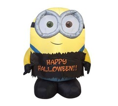 Inflatable Halloween Minion Decoration 3 Foot Bob Outdoor Prop Yard Airb... - ₨5,553.66 INR