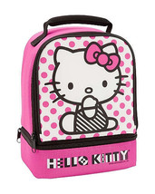 Hello Kitty lunchbox/cooler-INCLUDES THERMOS FOOD JAR - $17.95