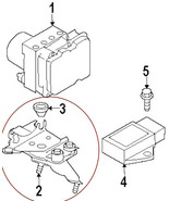 Infiniti Nissan OEM Bosch Anti Lock Brake ABS Actuator Bracket 47840 JK6... - $36.00