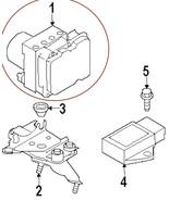 Infiniti Nissan OEM Anti Lock Sport Brake ABS Module Actuator 47660 1NM1... - $290.00