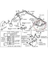 2013 Infiniti Nissan OEM Brake Master Cylinder Pipe Line Tubes 46250 462... - $24.00
