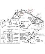 Infiniti Nissan OEM ABS Rear Brake Tube Line Pipes 46282 46283 AM610 #46288 - $49.00