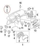 2009 10 11 12 13 OEM Nissan Infiniti Temperature Sunload Sensor 27721 3A... - $29.00