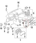 2010 11 12 13 OEM Nissan Infiniti Interior Temperature Sensor 277203AA0A... - $14.00