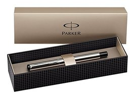 Parker Vector Stainless Steel Fountain Pen Fine Nib - $17.81