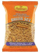 Haldiram Bhujia Sev Bikaneri Famous Hot-n-spicy Extruded Fried Indian Sn... - $4.46